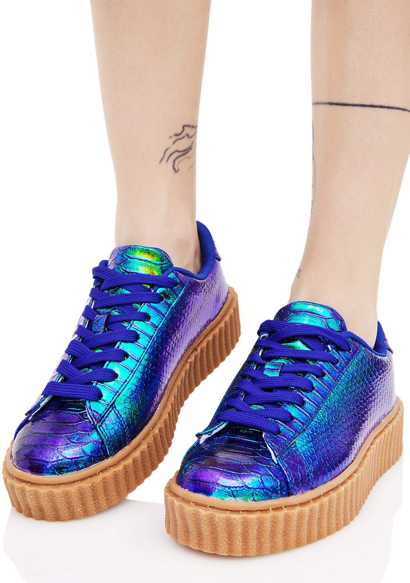 Mermaid Feel It All Creeper Sneaker