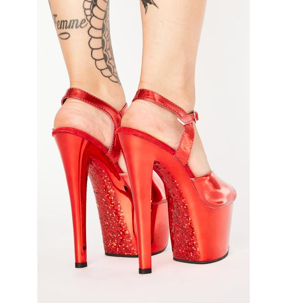 Pleaser Hot As Hell Platform Heels