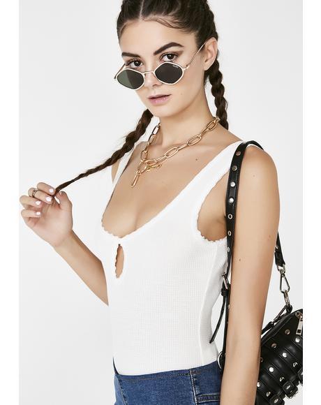 Lavish Lady Keyhole Bodysuit