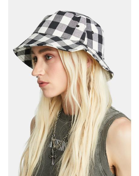 Reality Gingham Bucket Hat