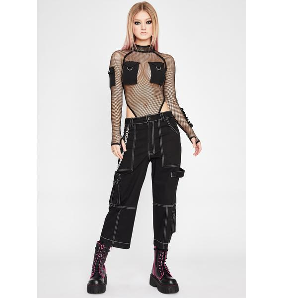 HOROSCOPEZ Unparalleled Legends Fishnet Bodysuit