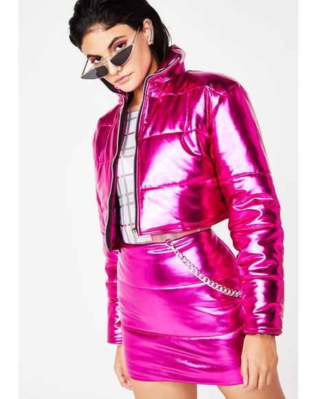 Pixie Bratitude Puffer Jacket