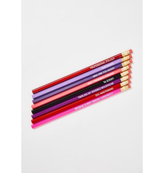 Whiskey River Soap Scorpio Pencils