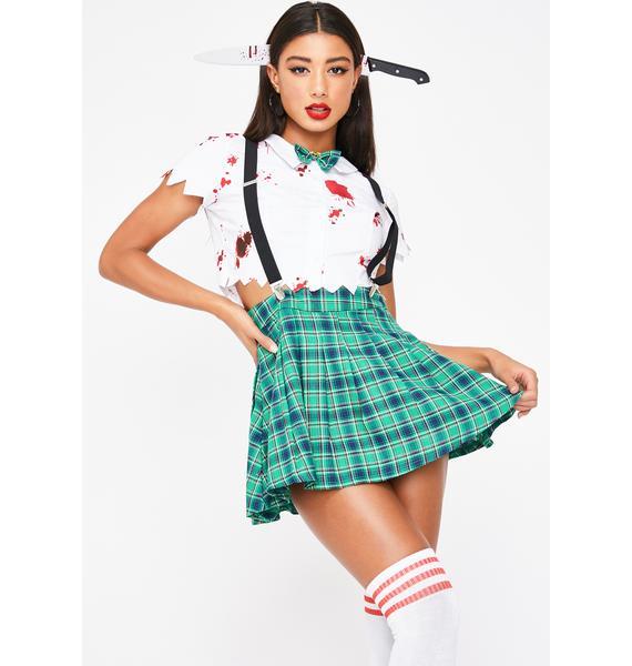 Dolls Kill Hell Week Skirt Set