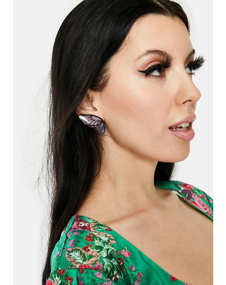 Free To Fly Butterfly Earrings
