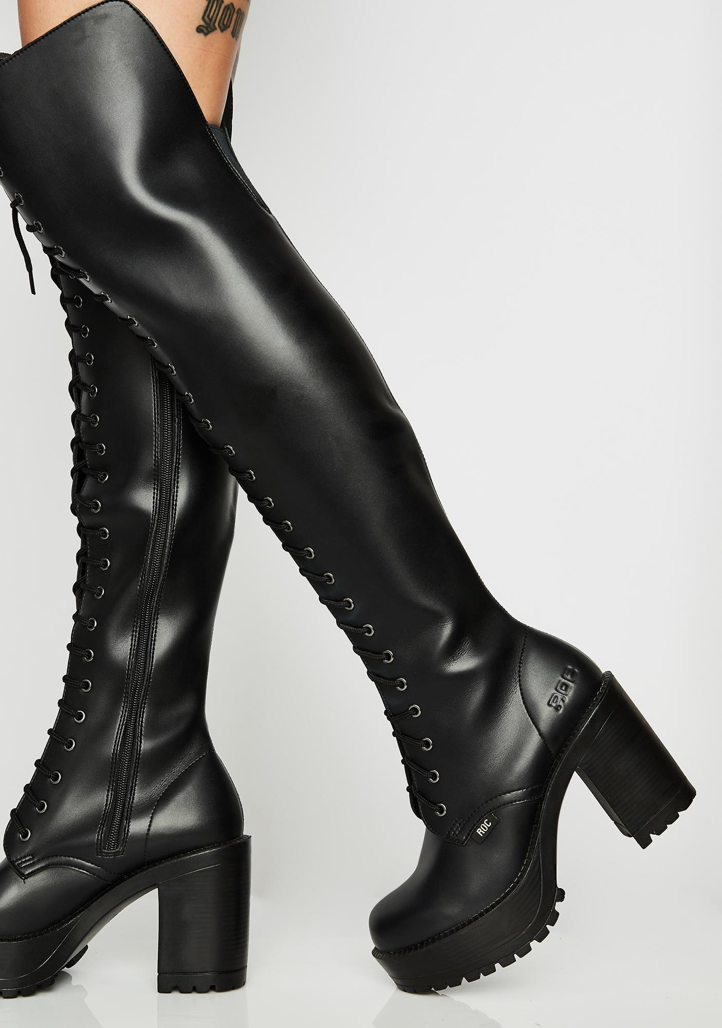 ROC Boots Australia Lavish Thigh High Boots
