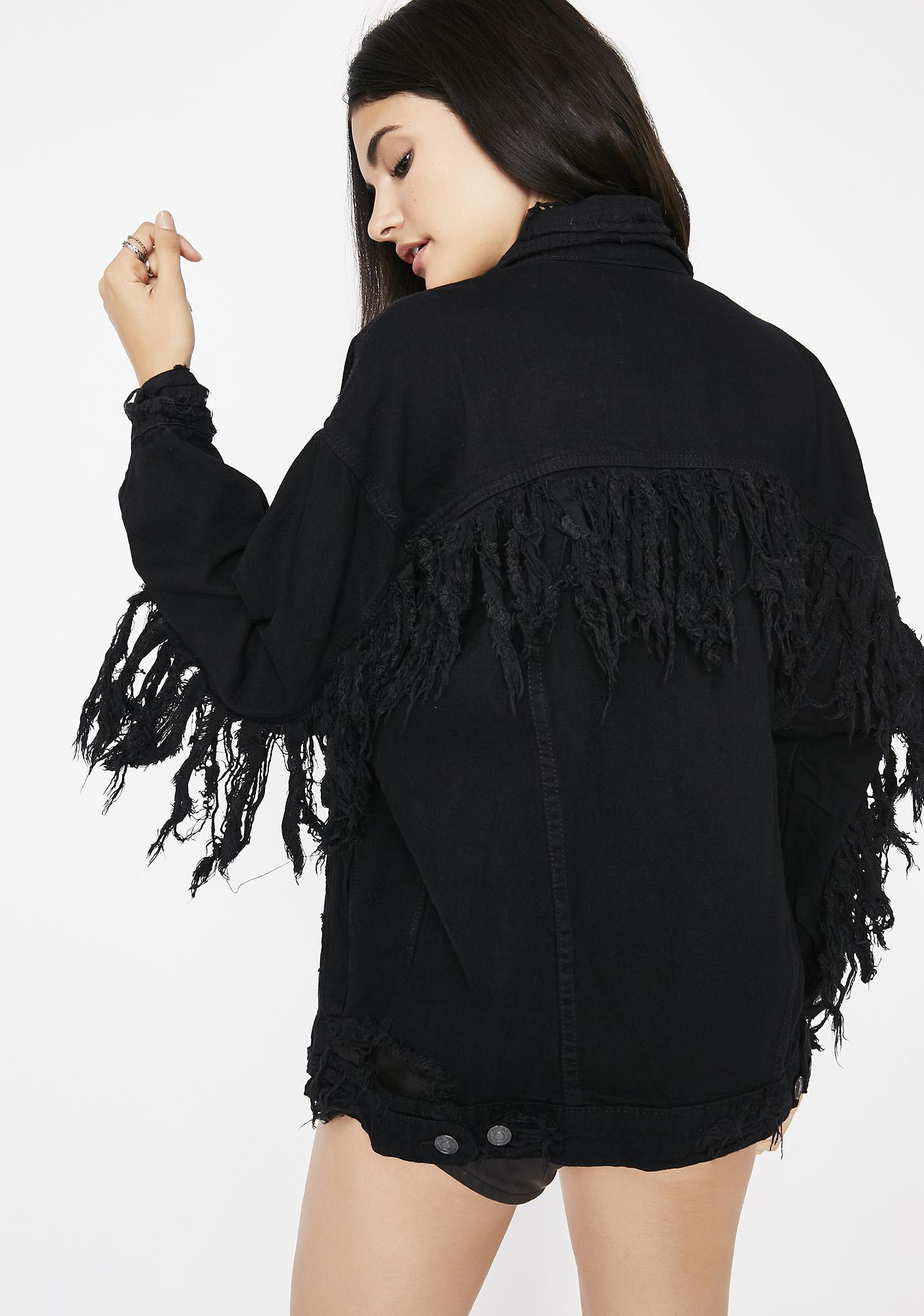Fringe Or Foe Denim Jacket