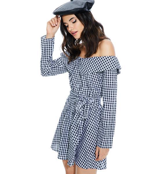 Annabelle Off-Shoulder Dress