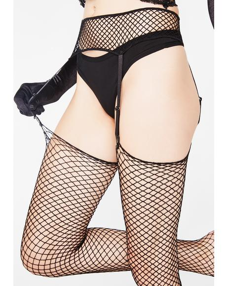 Seduce 'Em Garter Belt N' Stockings