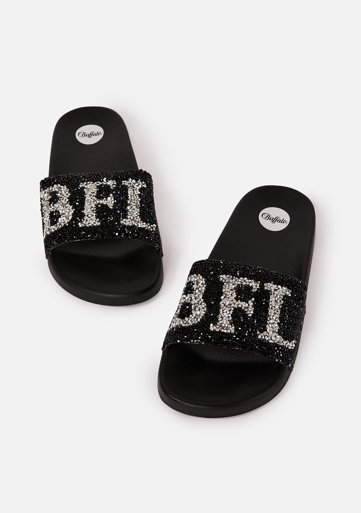 Buffalo Joelle Slide Sandals