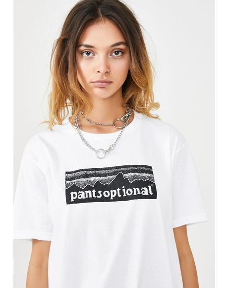 Pantsoptional Graphic Tee