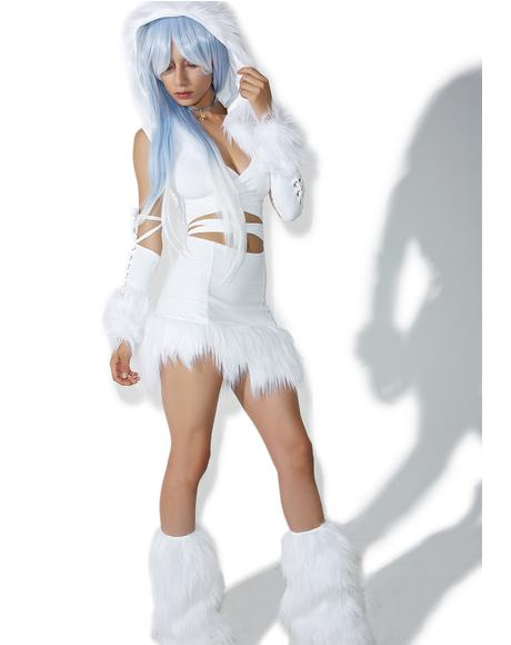 Ice Queen Skirt Set