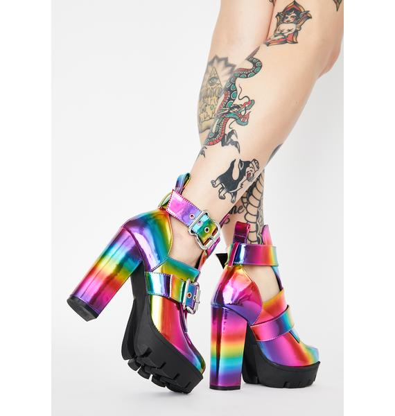 Prism Run The World Heeled Boots