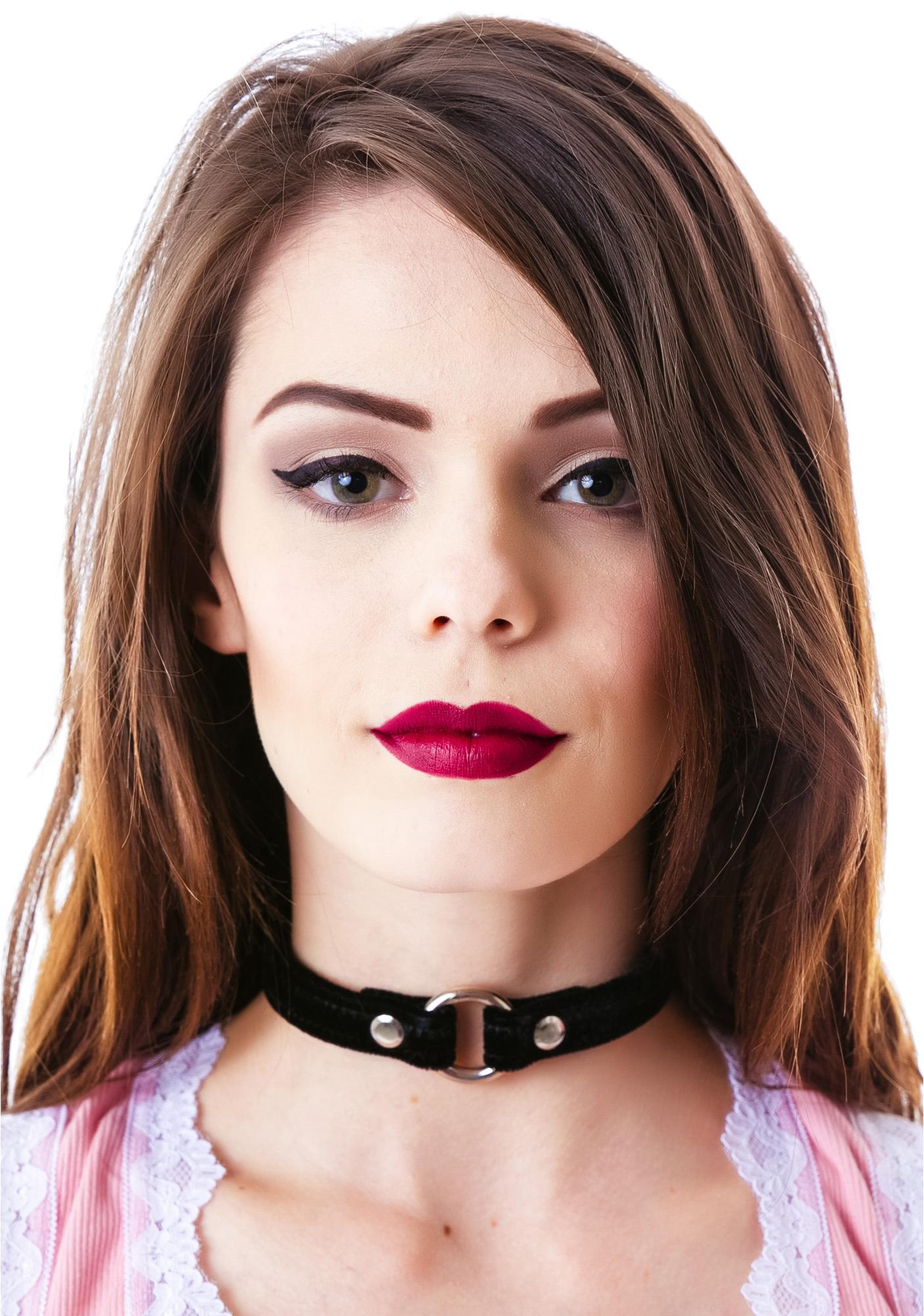 Just Say O Velvet Choker