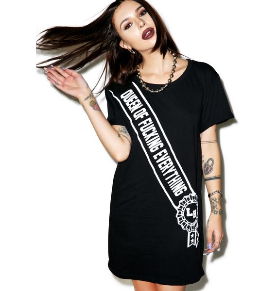 Local Heroes Queen Of It All T-Shirt Dress