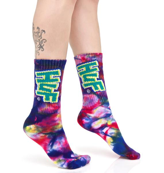 HUF Hoes N Tricks Crew Sock