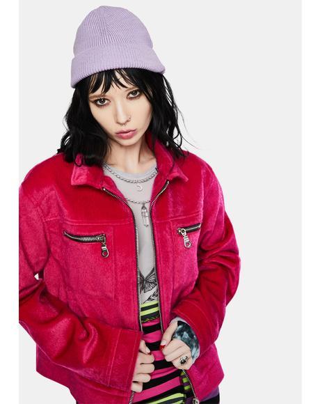 Trick Fuzzy Jacket