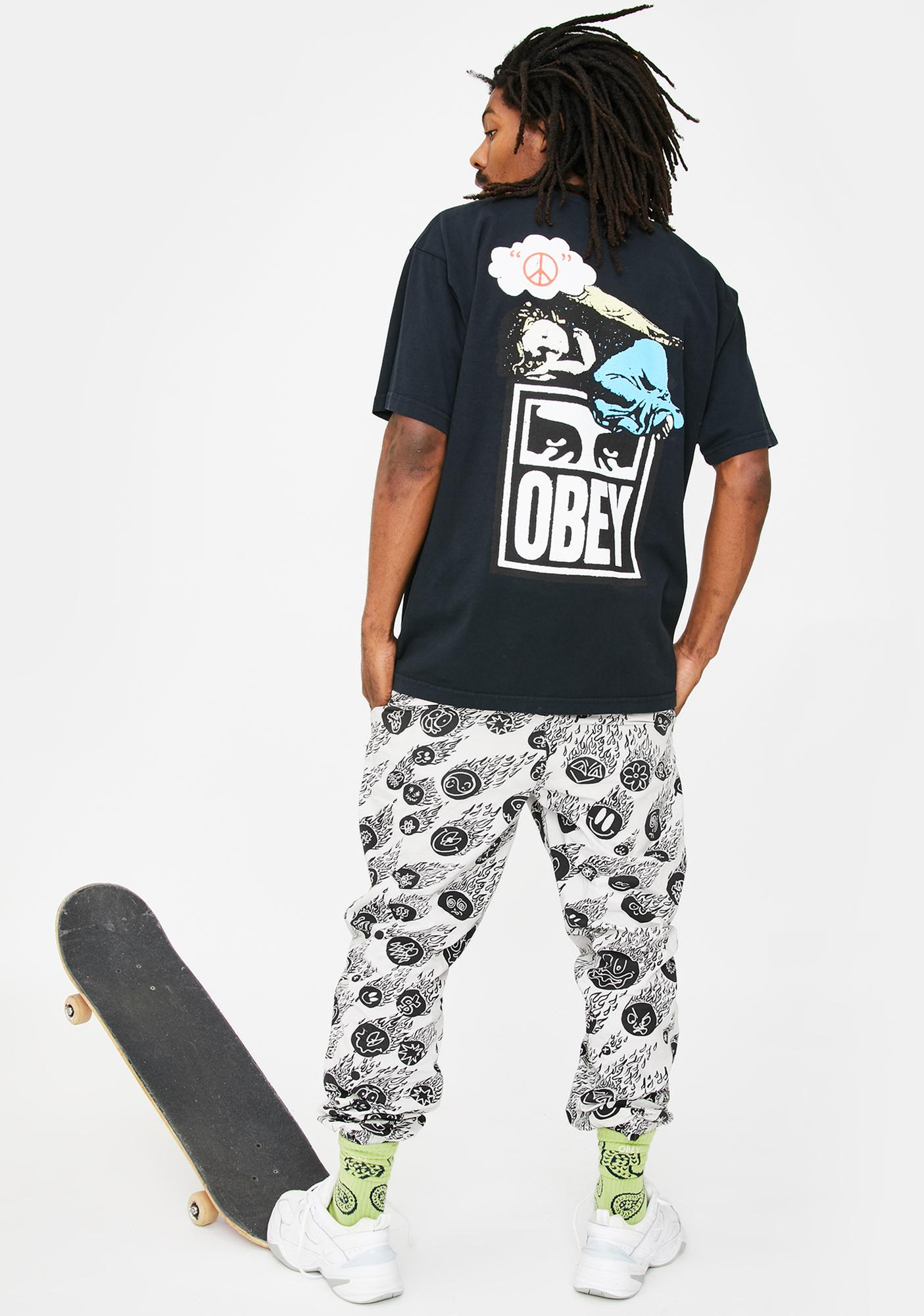 Obey Angel Graphic Tee
