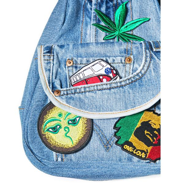 Jamaican Me Crazy Patches