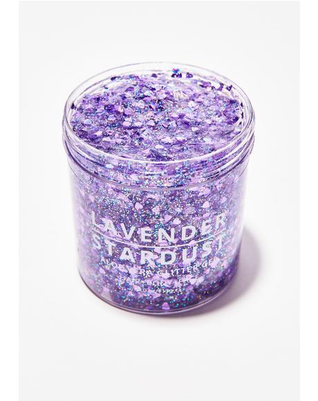 Amethyst Stardust Glitter Gel