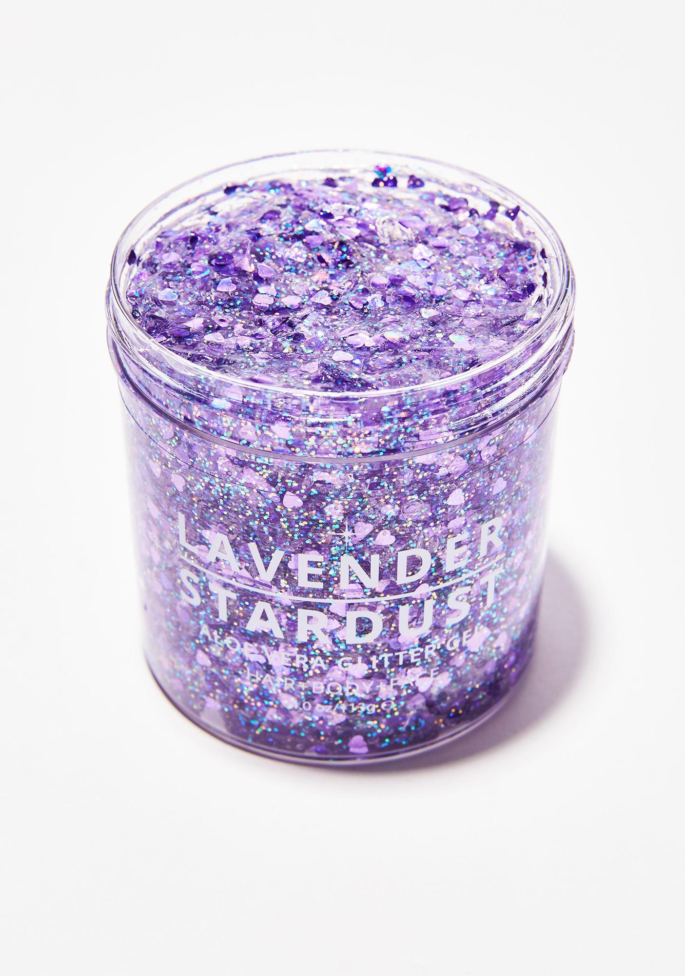Lavender Stardust Amethyst Stardust Glitter Gel