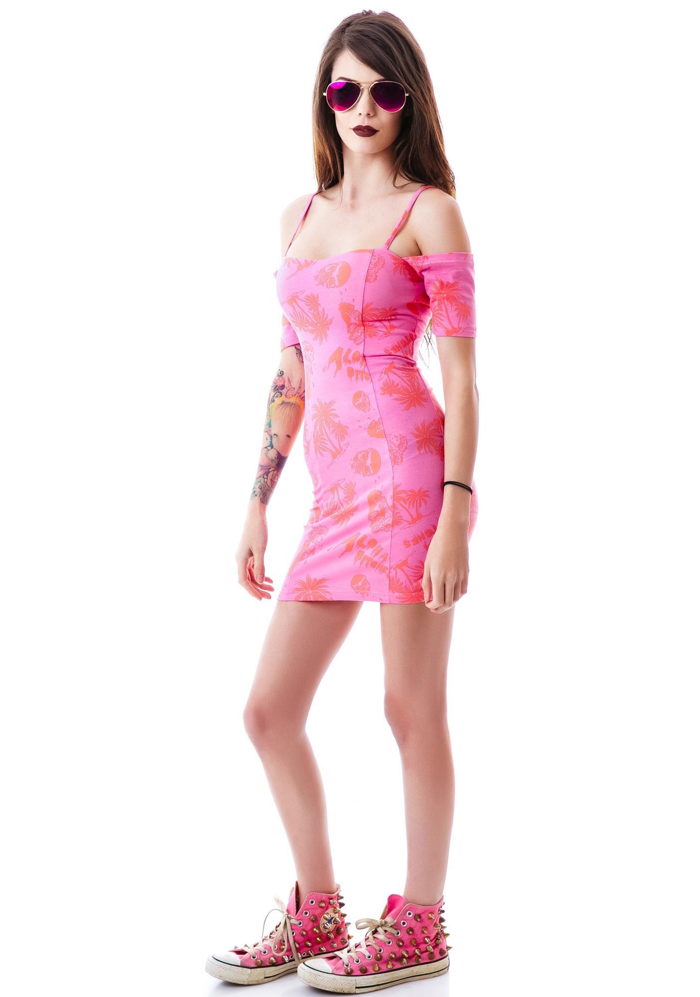 Iron Fist Aloha Bitches Dress