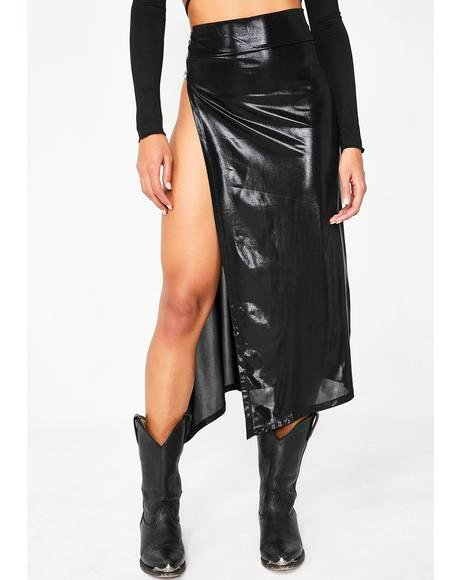 Currency Couture Midi Skirt