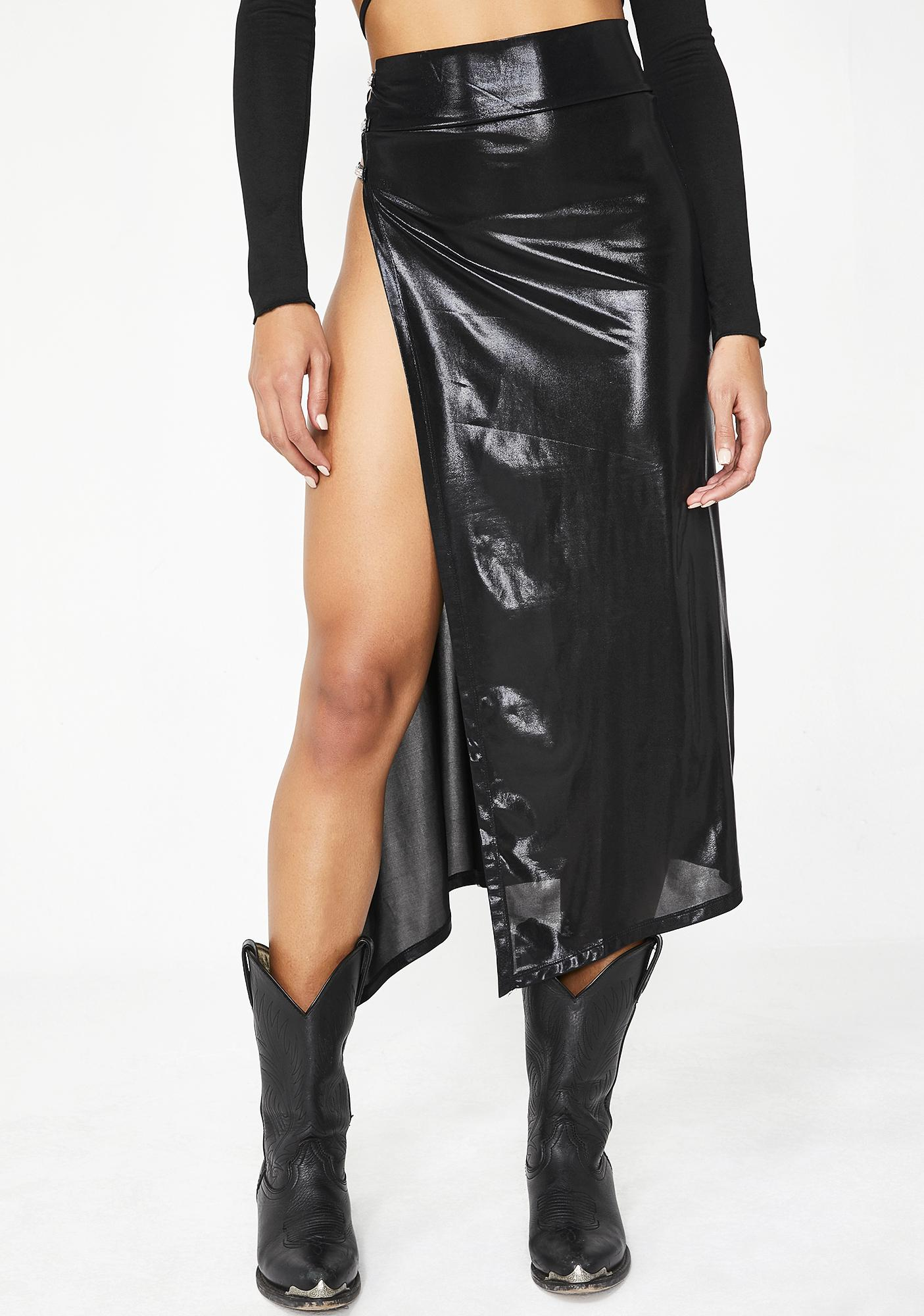 Poster Grl Currency Couture Midi Skirt