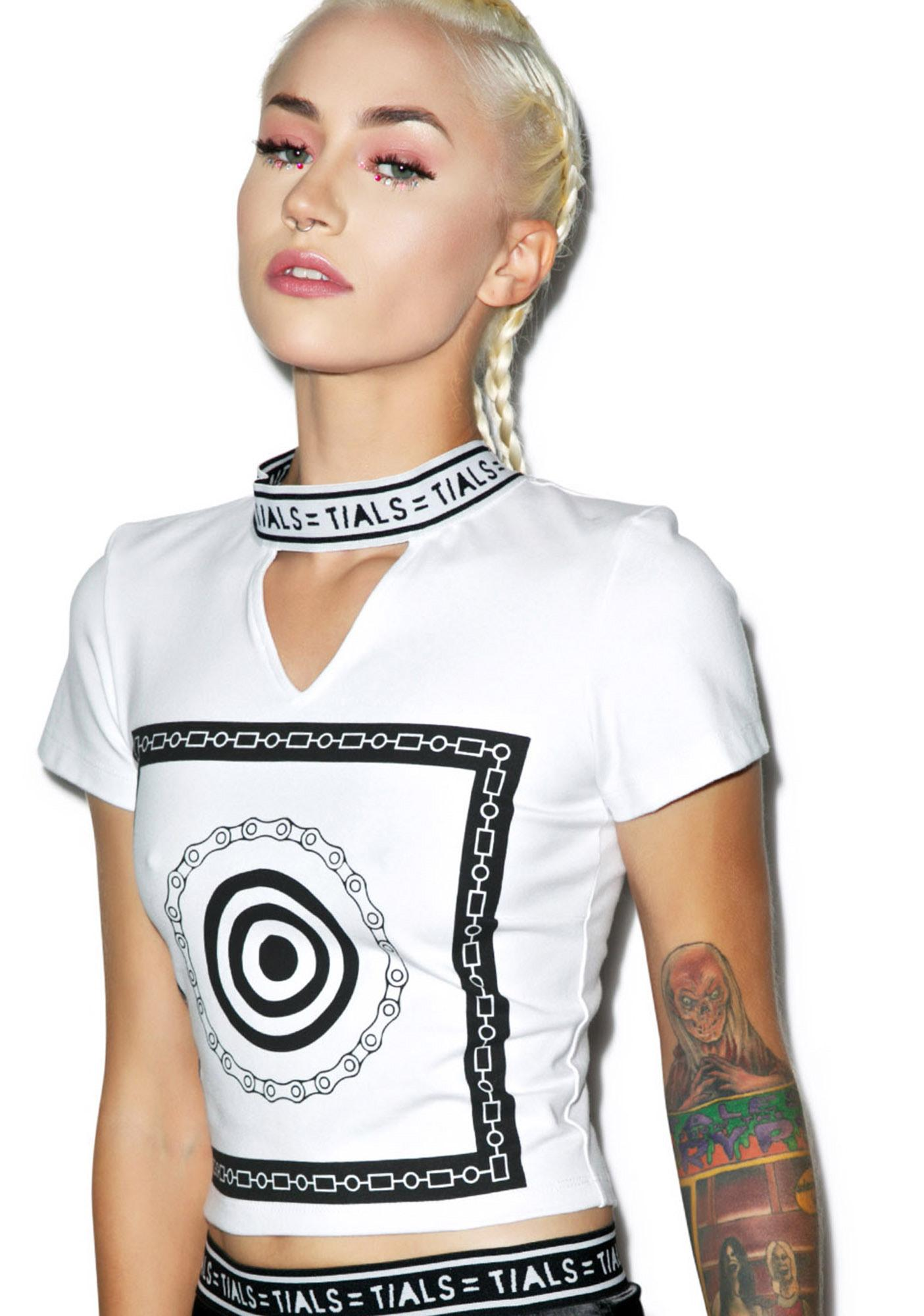 This Is A Love Song Meilia Crop Tee