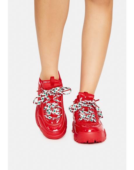Fire Disruptor 2 Heart Sneakers