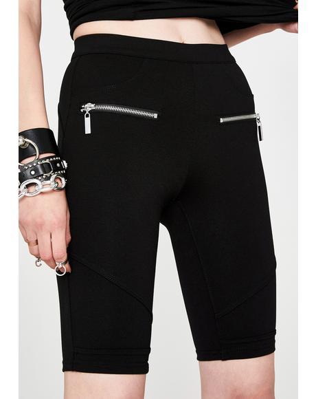 Caviar Biker Shorts