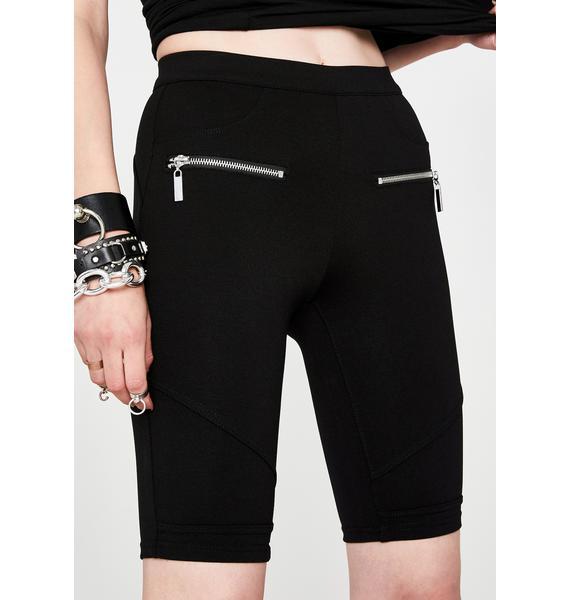 Blank NYC Caviar Biker Shorts