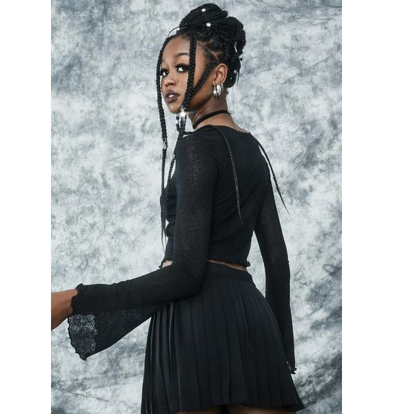 dELiA*s by Dolls Kill Daughter Of Salem Crop Top