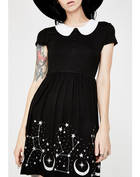 Moonscape Skater Dress