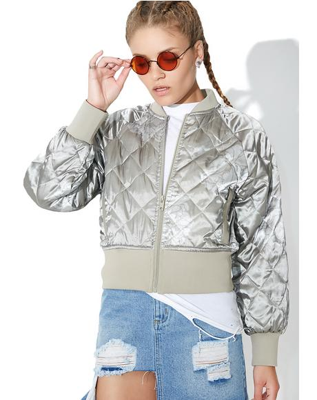 Momo Quilted Bomber