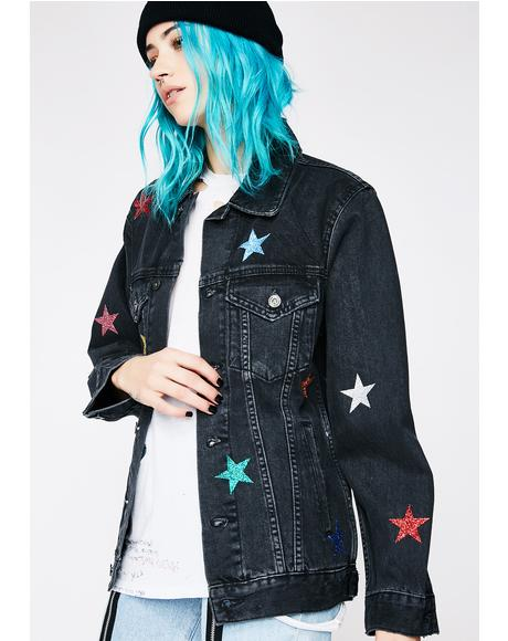 Galaxy Denim Jacket