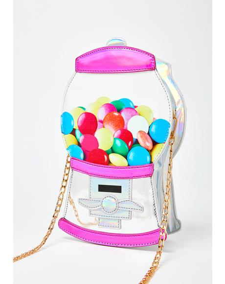 Sugar Rush Gumball Machine Purse