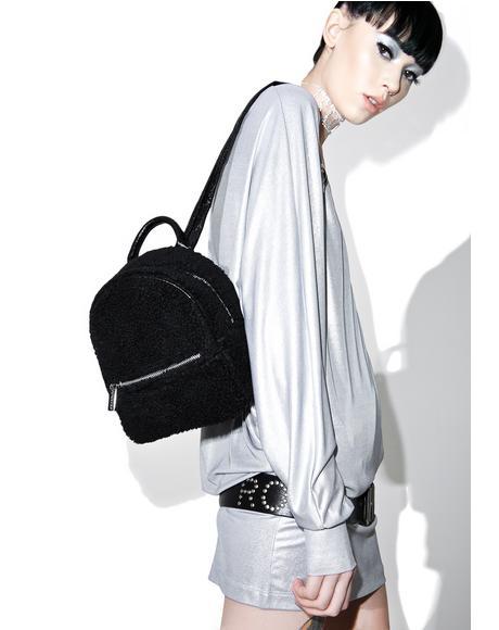 Charlie Mini Shearling Backpack