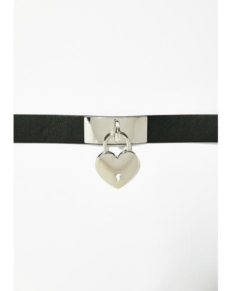 Luv On Lock Choker