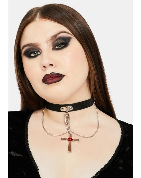 Vamp Repeller Chain Choker