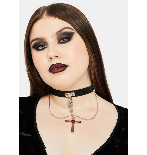 Vamp Repeller Chain Choker