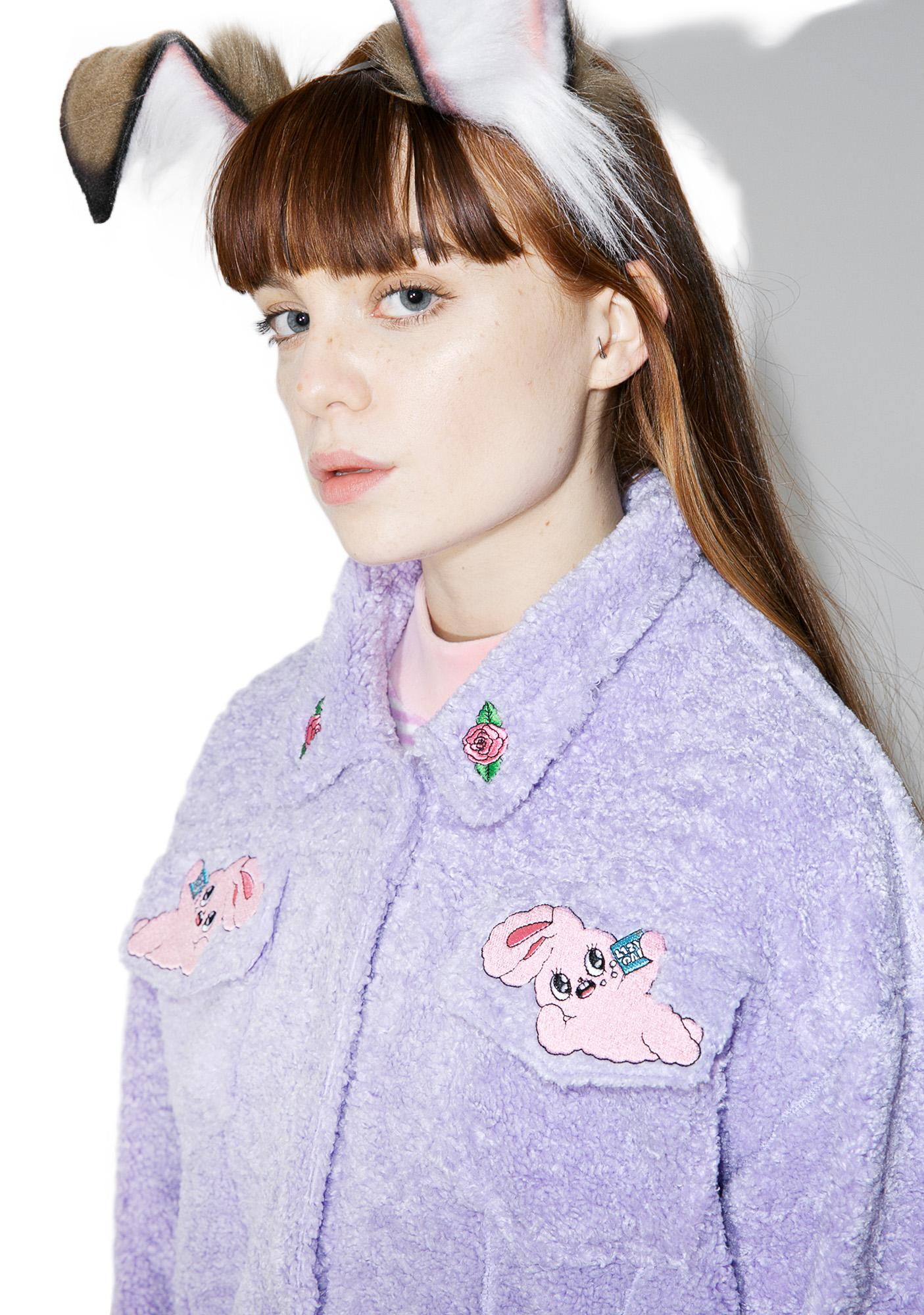 a06dece1ca ... Lazy Oaf Esther Loves Oaf Lazy Bunny Jacket ...