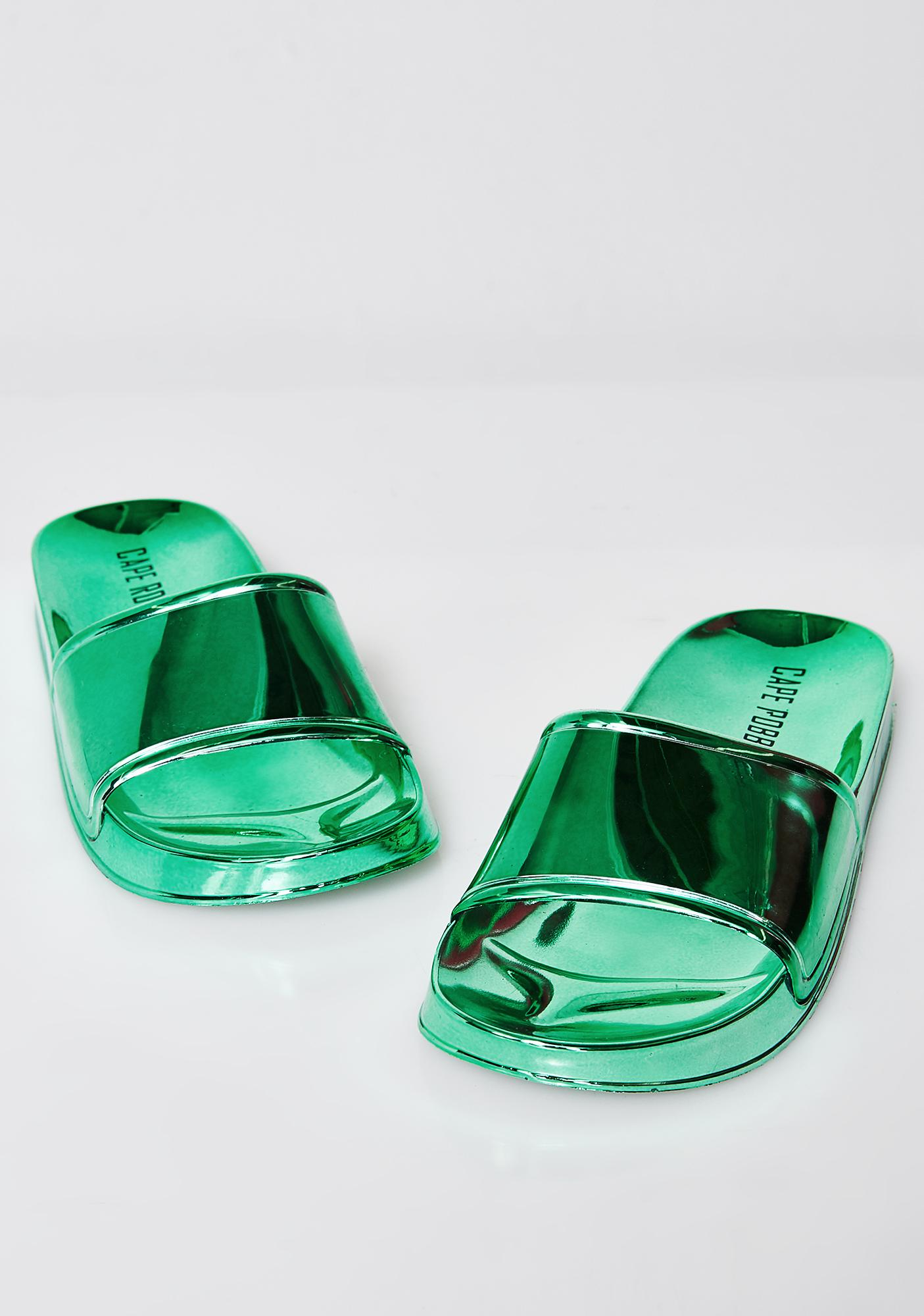 Emerald Shining Bright Slides