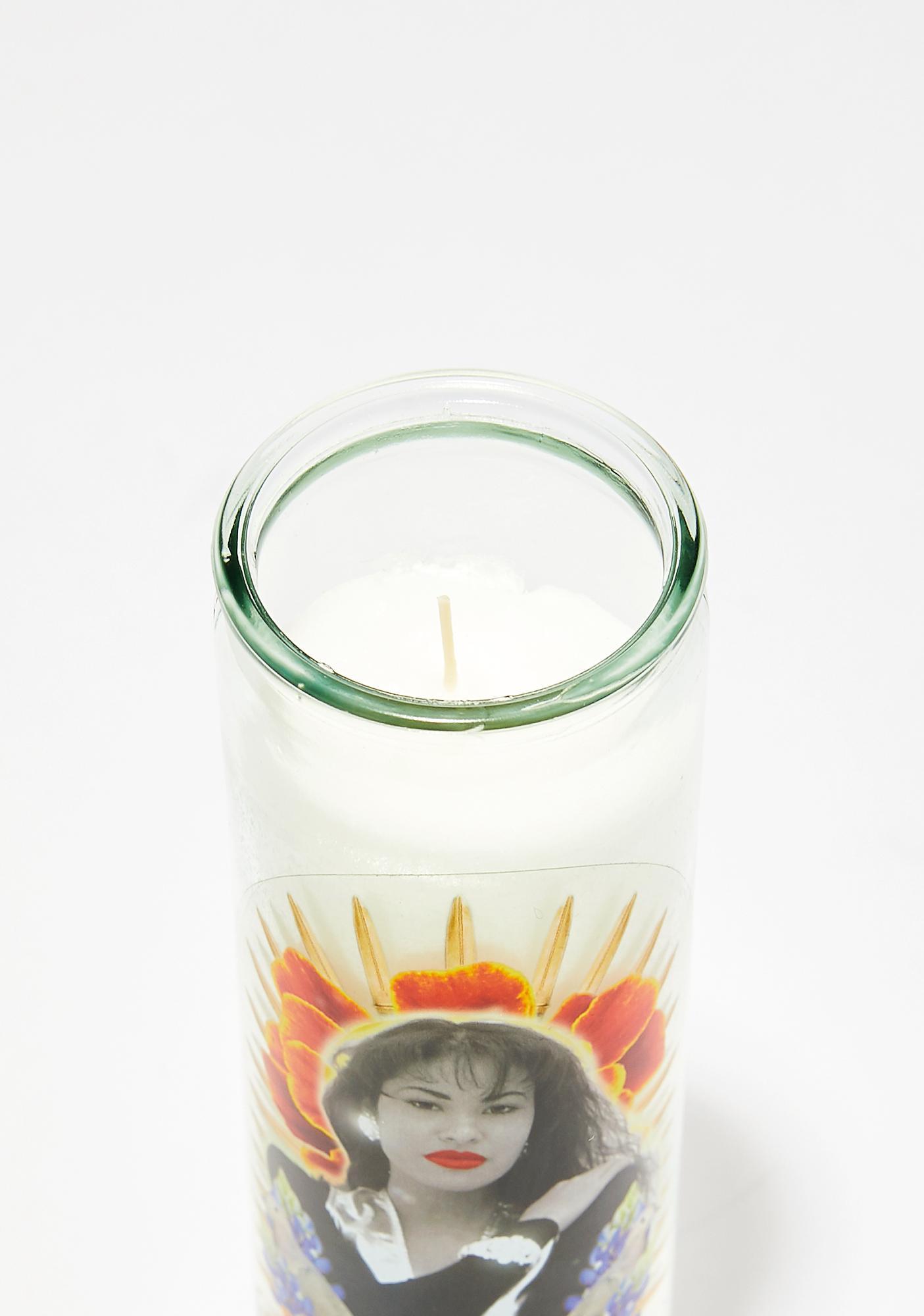 Last Craft Santa La Flor Altar Candle