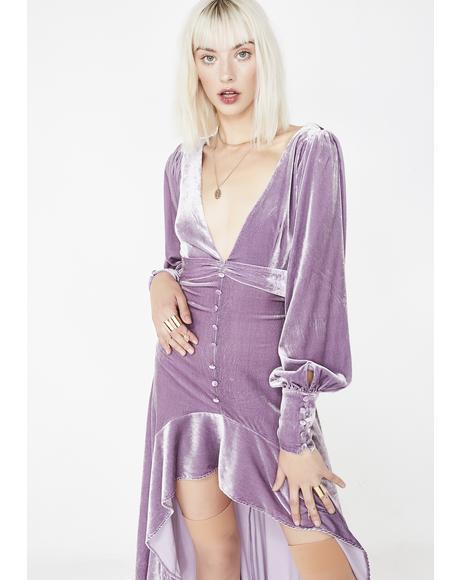 Viva Velvet Maxi Dress