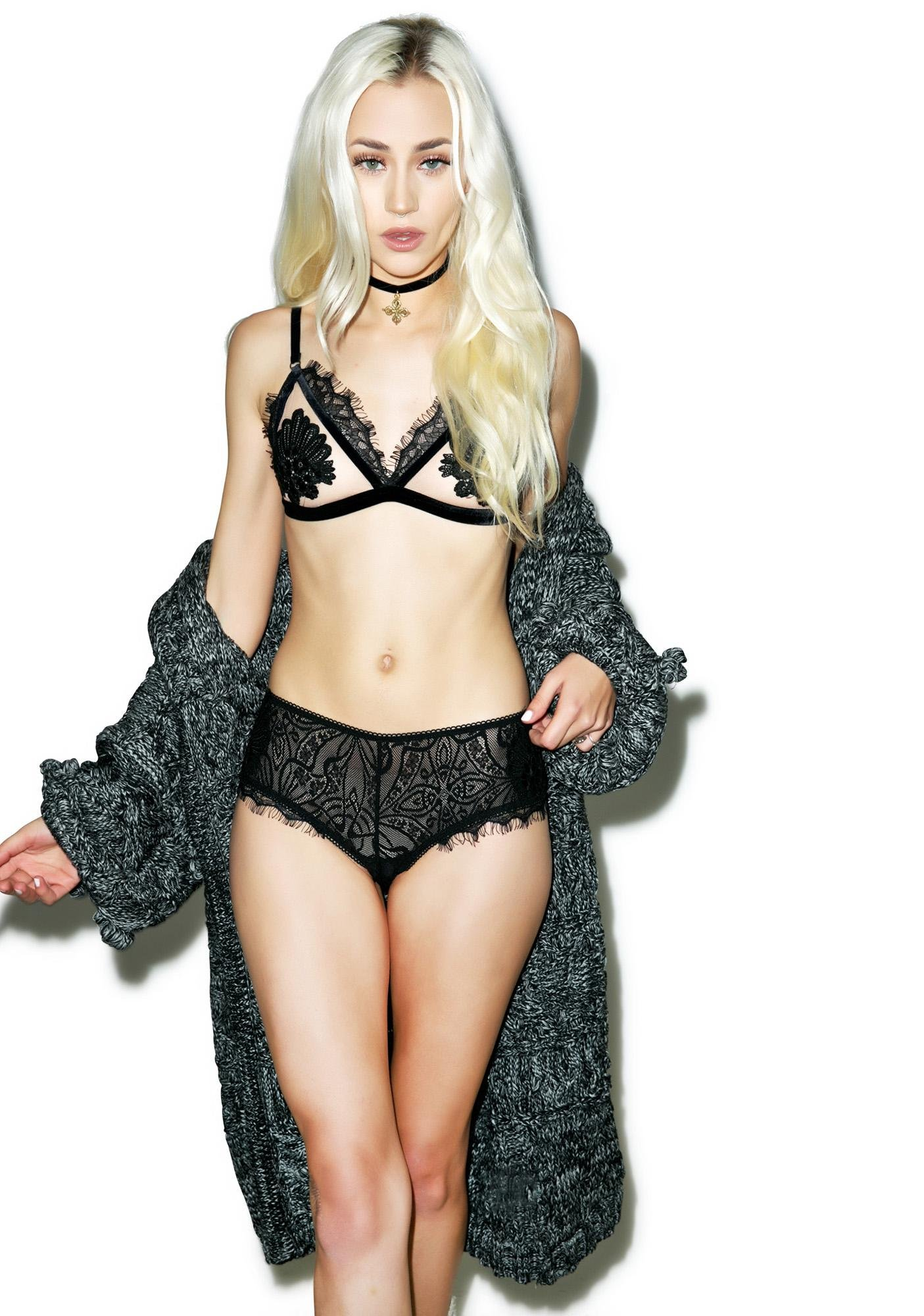 For Love & Lemons Cecile Cheeky Panty