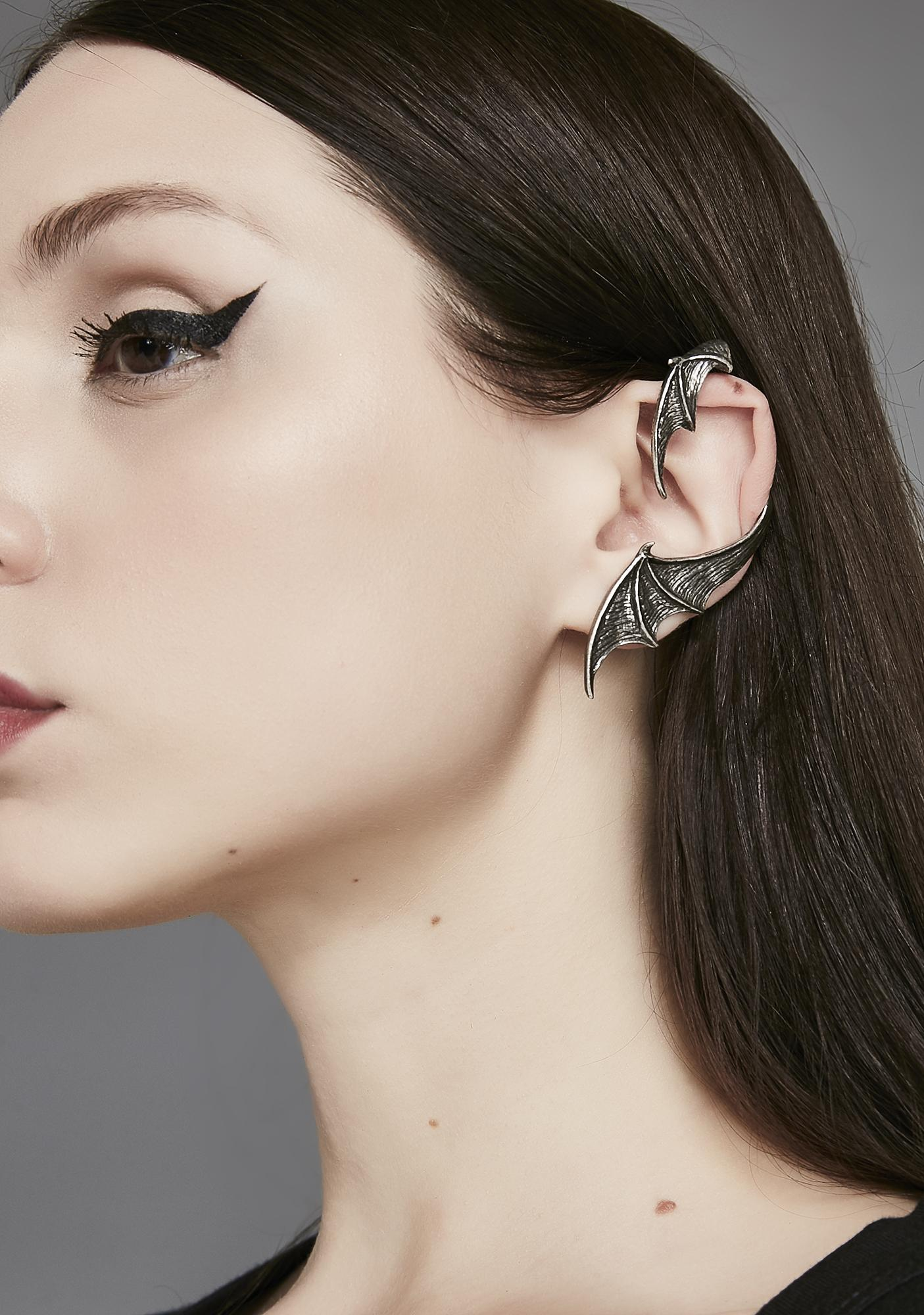 A Night With Goethe Ear Cuff