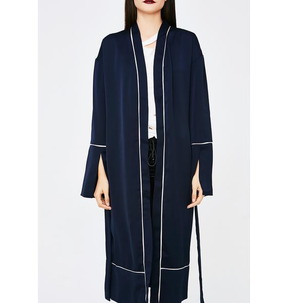 Nice N' Easy Longline Robe