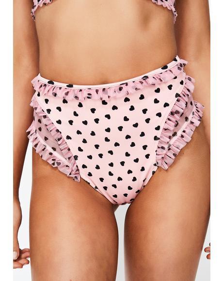 Claudia Hi Waist Bikini Bottoms