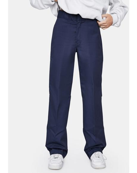 Navy Original 874 Work Pants